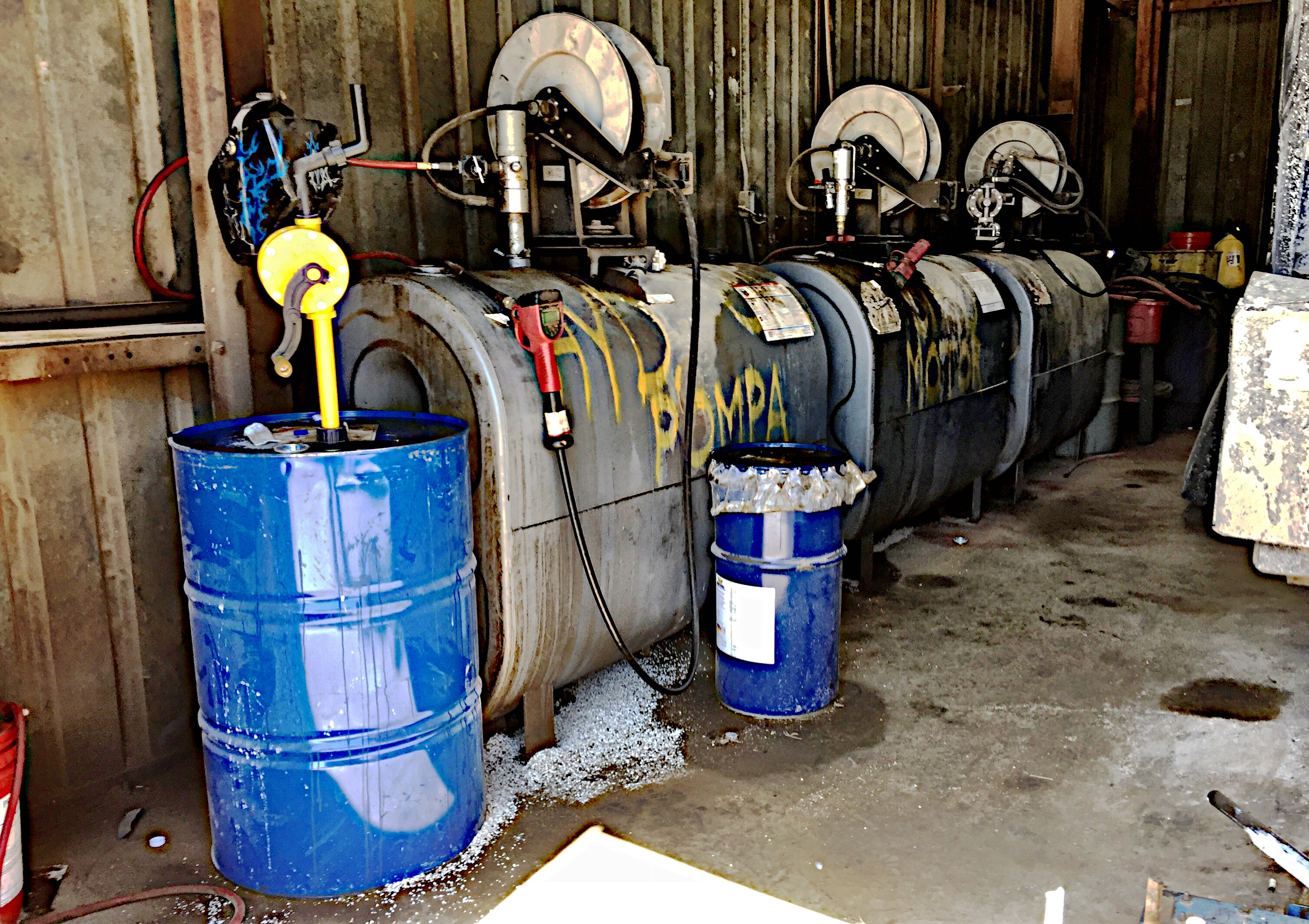 ASTs and Drums (Chemical Storage)