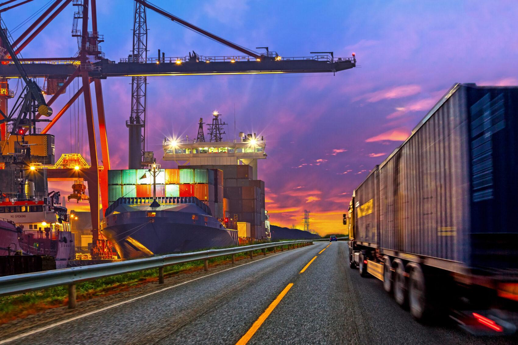 Salesforce For Logistics Truck Transport Industry