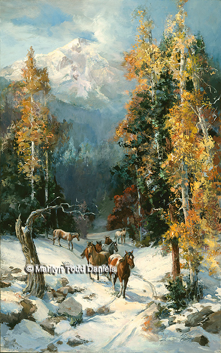 'First Snow' by Todd-Daniels   Woodsong Institute