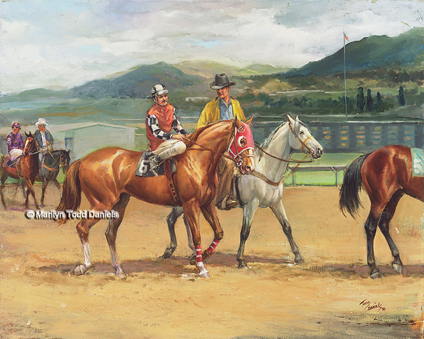 'Seventh Race at Ruidosa Downs' by Todd-Daniels | Woodsong Institute