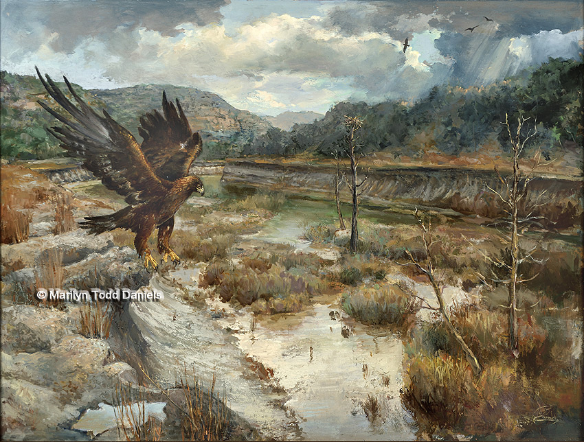 'Where Eagles Gather' by Todd-Daniels   Woodsong Institute