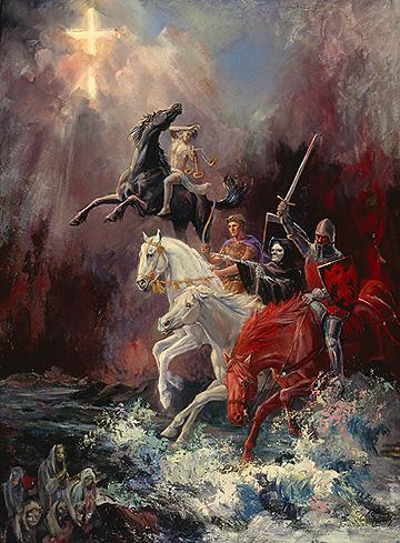 'Four Horsemen' by Todd-Daniels   Woodsong Institute