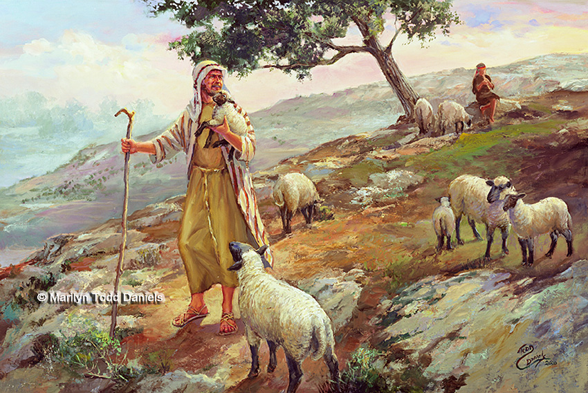 'The Good Shepherd' by Todd-Daniels   Woodsong Institute