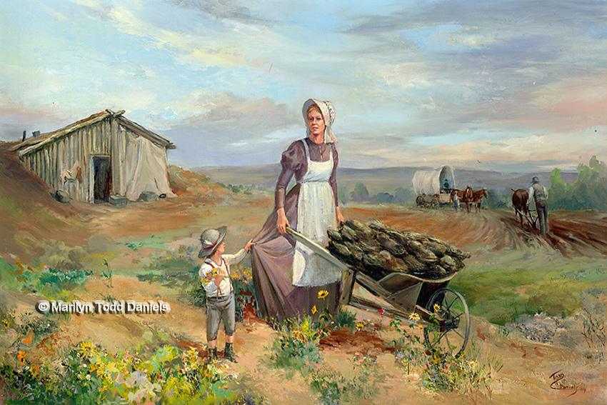 'Madonna of the Plains' by Todd-Daniels | Woodsong Institute