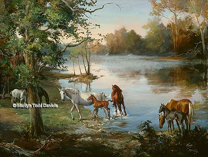 Horse Art & Equine Paintings by WoodSong
