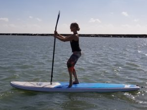 SUP Barre at Water Dog Floating Yoga