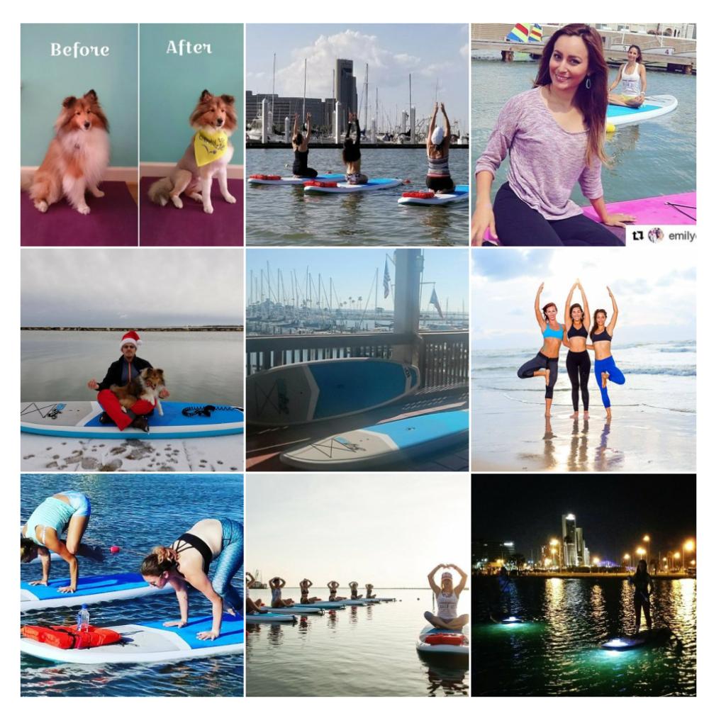 Corpus Christi Yoga on the water
