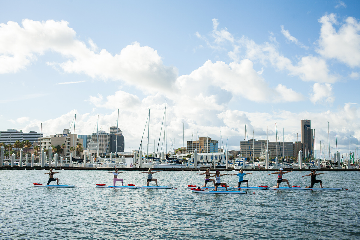 SUP Yoga at Water Dog CC