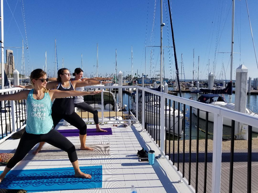 Yoga fundamentals series with Water Dog CC