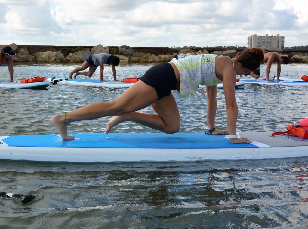 Corpus Christi SUP and Paddle Fit classes at Water Dog