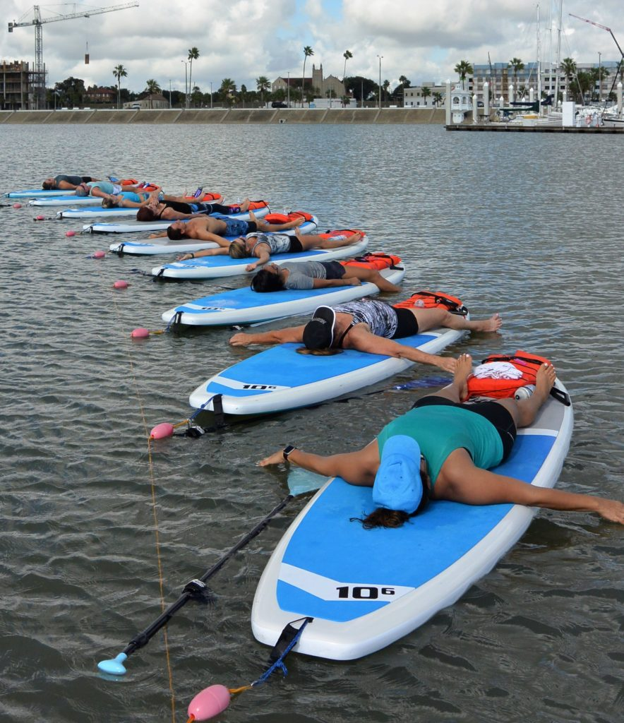 Things to do in Corpus Christi, Water Dog Yoga
