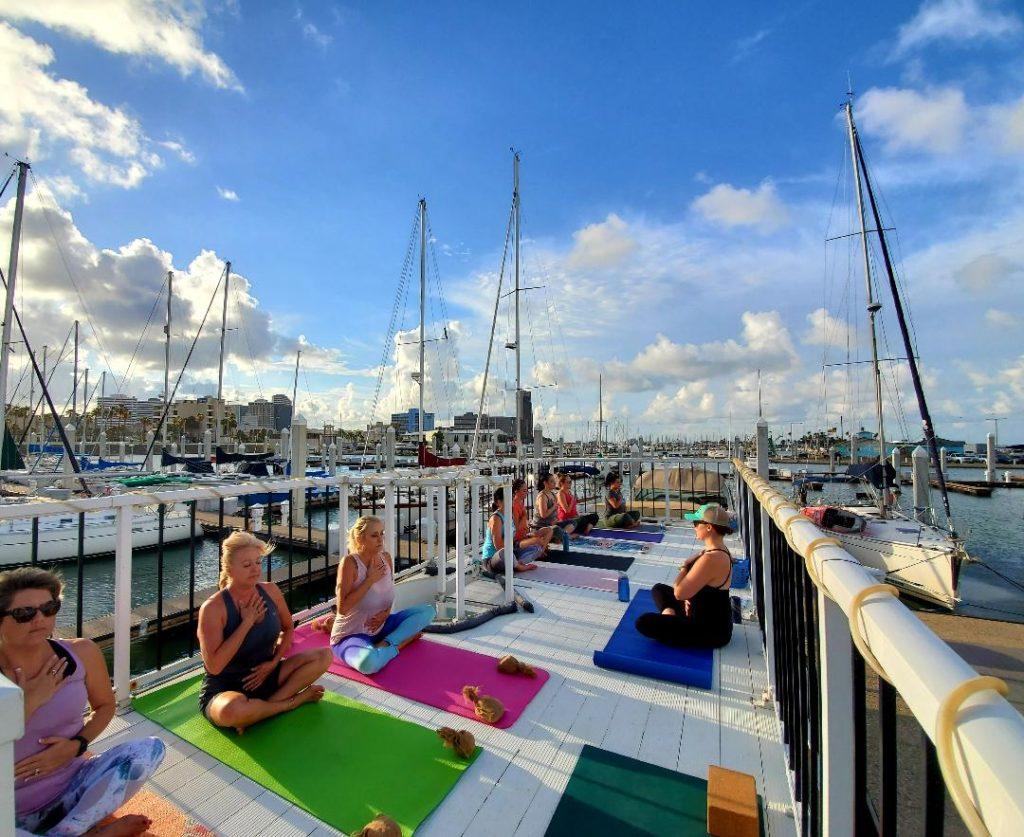 Outdoor yoga corpus christi