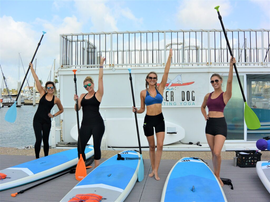 SUP Fitness with friends