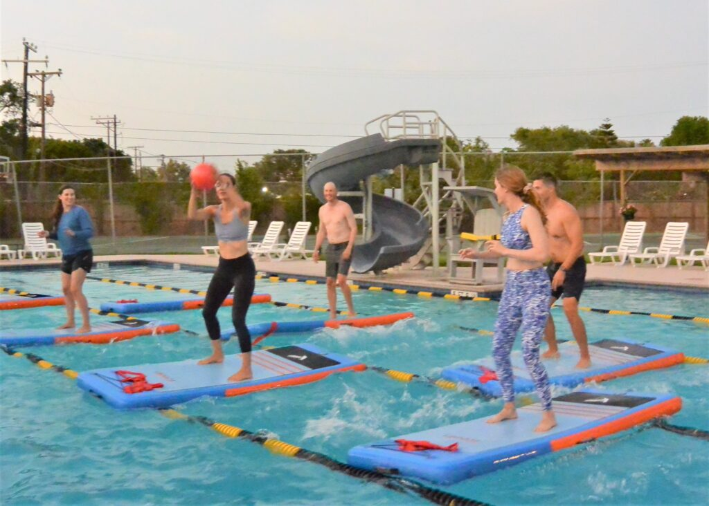 Pool SUP Fit at Sante Fe Swimming Pool