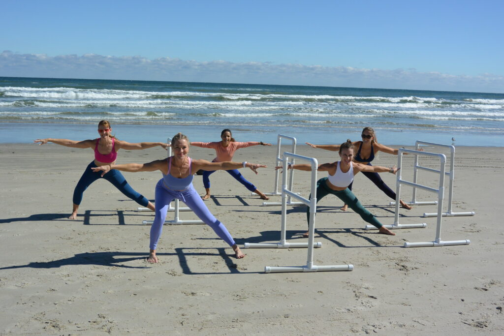 Beach Barre on North Padre Island Sea Wall