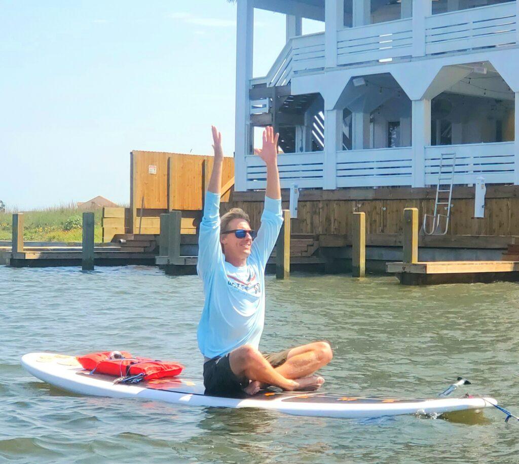 SUP Yoga at Aruba Bay Resort on NPI
