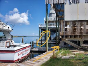 Boathouse launch