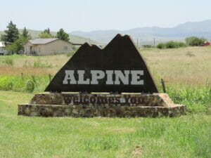 Alpine TX 01