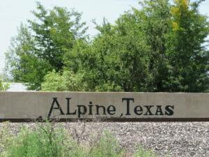 Alpine TX 04