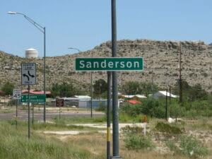 Sanderson TX 01