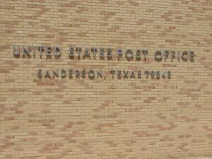 Sanderson TX 08