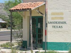 Sanderson TX 18