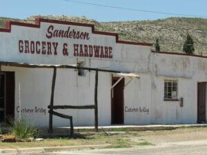 Sanderson TX 19