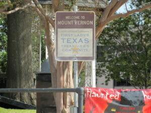 Mt Vernon TX 23