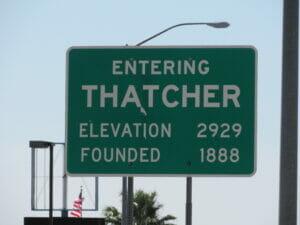 Thatcher AZ 01