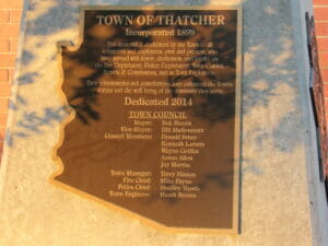 Thatcher AZ 32