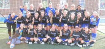UMKC women's soccer team Dismantle Chicago State, Claim WAC Title