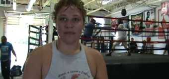 """Coaches Corner Interview with """"SAFE"""" Guns 'N Hoses Boxer Shenee Davis With KCKPD"""