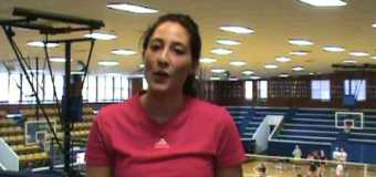 Interview with Rockhurst University Volleyball team member Victoria Mahl