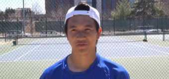 Interview with UMKC Men's Tennis Team member Vinny Pham