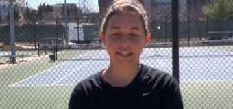 Interview with UMKC Women Tennis Team member Dimitra Stavrianakou