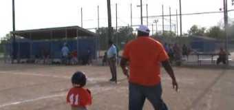 RBI Little League Baseball T Ball Diamond Backs VS Kings