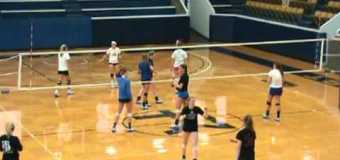 Rockhurst University Volleyball Practice