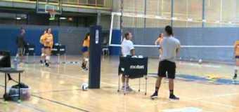 UMKC Womens Volleyball Team Practice