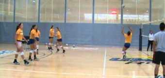 UMKC Women's Volleyball Team Practice #2
