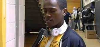 Cleveland Heights Post Game Interview with Tyree Gaiter