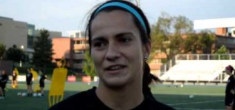 Interview with 1 Nina Tzianos  member of the UMKC Women's Soccer Team