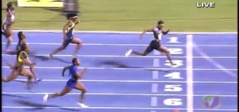 Jamaica Olympic Trials 100m finals