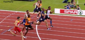 Men's 100m Final – European Athletics Championships 2016