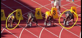 USA Mens 100M Olympic trials final 2016