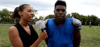 Interview with Lincoln Prep Football Player Jalen Green Edison