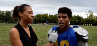Interview with Lincoln Prep Football Player Michael Merritt