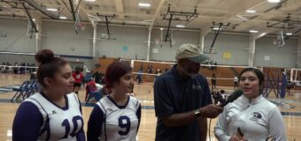 Interview with J.C. Harmon Volleyball Team Members Thania Lopes, Erika Dominguez & Alicia Diaz