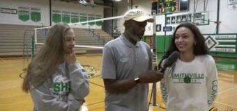 Interview with Smithville Volleyball Team Members Adrianna Comple & Corene Keele