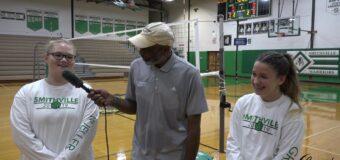 Interview with Smithville Volleyball Team Members Kelsie Gresham & Hailey Mueller