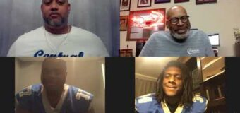 Interview with DJ Pittel Central Blue Eagles Head Football Coach and two of players Xavier Smith, DaMarcus Hawkins.